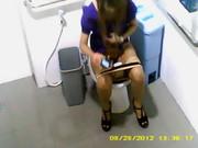 หลุดสาวแบ็งค์เข้าห้องน้ำที่ยูเนียนโดนไอโรคจิตแอบถ่ายตั้งกล้อง HD จนได้เหี้ยมจริง ไครว่าบ้างหุ่นดีน่าเย่อไหมจ้ะ