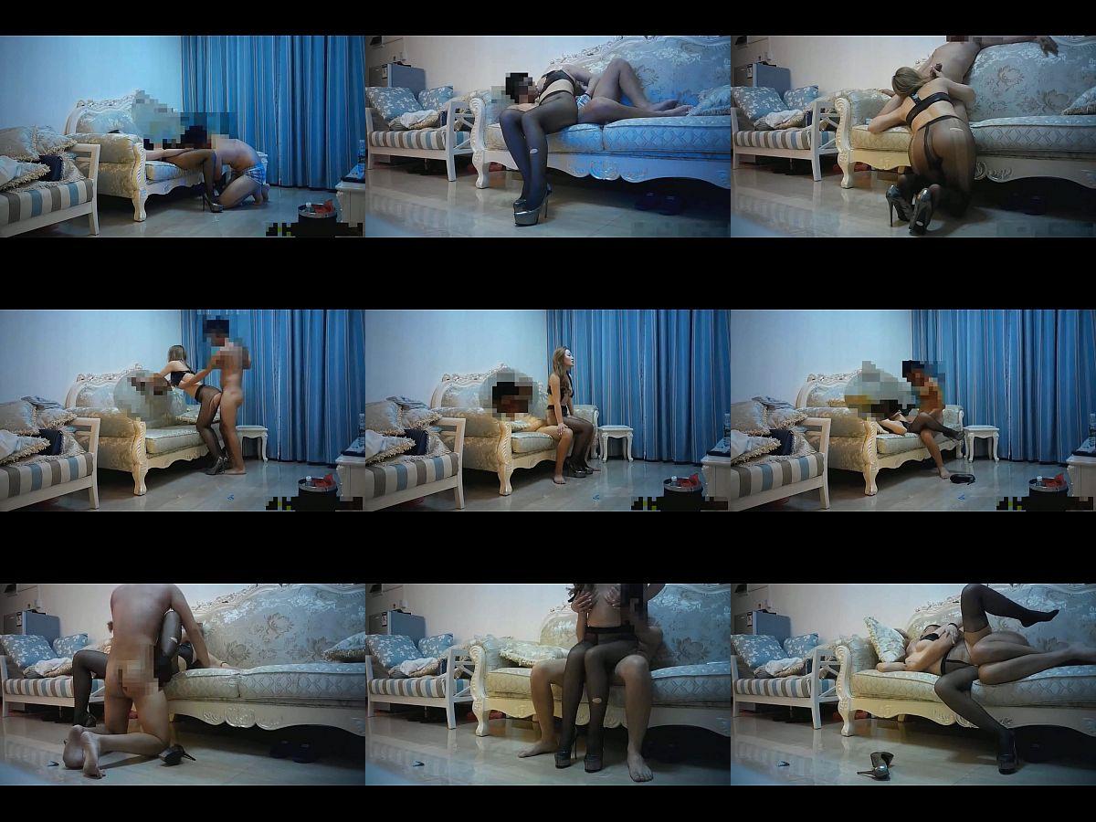 ตั้งกล้องจัดฉากถ่ายหนังโป๊กับเมียสาว ใส่ชุดคอสเพล ให้เมียนั่งเฉยๆเดียวพี่เลียหีเอง งานนี้ลงลิ้นหนักๆ