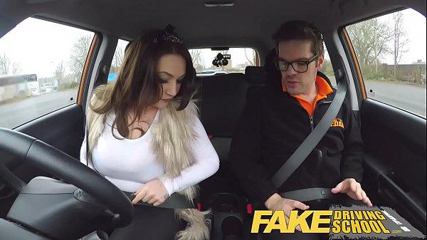 Fake Driving School รถนักเรียนหลอกเย็ดหี มาดูซับไตเติ้ลอังกฤษกันครับ หลอกเย็ดนร