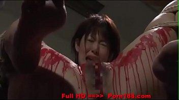 Asian Sadism แนวซาดิส เอาน้ำเทียนหยอดรูหีเลือดสาด เหมาะสำหรับคนชอบดูโรคจิต 18+