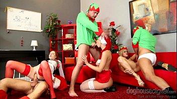 หนังโป๊แซนตาครอสสุขสันต์วันคริสมาส แซนต้าครอสเย็ดกับแซนตี้